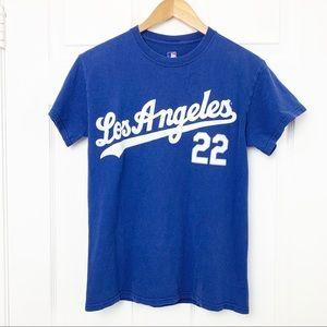 LA Dodgers Kershaw 22 t-shirt jersey